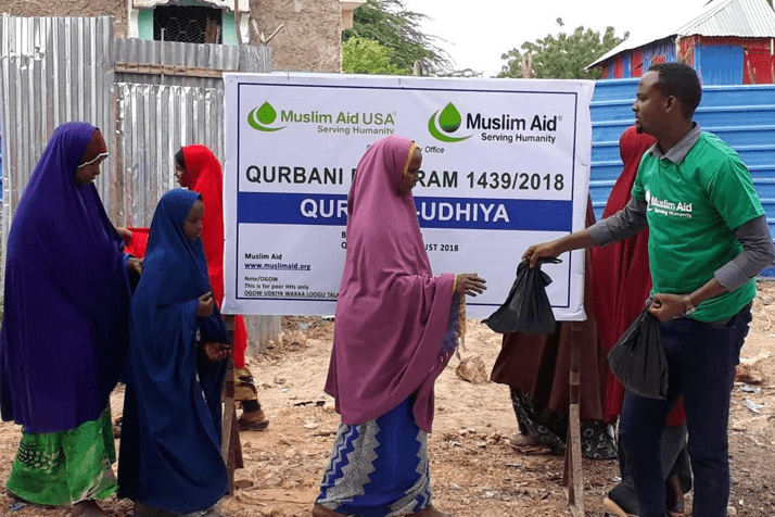 Qurbani Meat Distribution