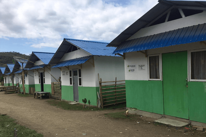 Transitional Shelters – Lombok