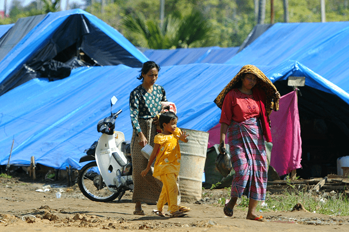 Shelters and Washroom – Indonesia