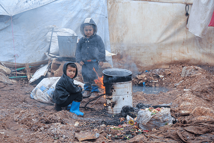 Winter Distribution – Syria Refugee's
