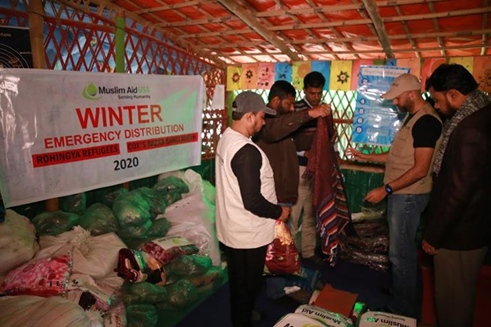 Winter Distribution for Rohingya – Bangladesh