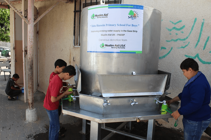 Desalination Water Planets in GAZA