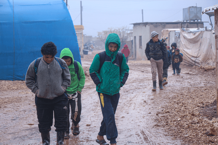 New Winter Clothing – Syria Refugee's