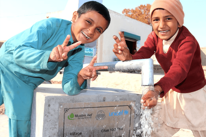 Installation of Hand Pumps in District Jhang