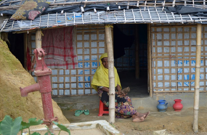 Transitional Shelter for Rohingya
